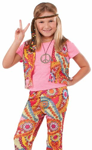 60's Hippie Girl Child Costume, Small