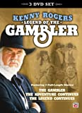 Kenny Rogers: Legend of the Gambler (3 Full-Length Movies: The Gambler, The Adventure Continues, & The Legend Continues)