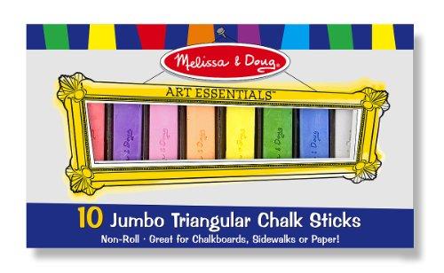Melissa Doug Jumbo Triangular Sticks