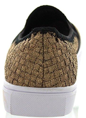 Bernie Mev Womens Verona Mode Sneaker Brons
