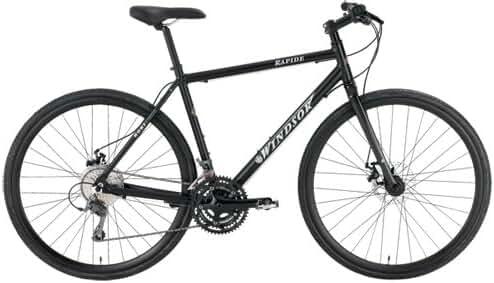 Windsor Rapide Disc Shimano Claris 24 Speed Disc Brake Carbon Fork Super Hybrid Bicycle Bike