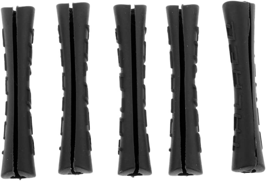 Mountain Bike Outer Brake Cable Protection Sleeve Cover Replacement Perfeclan 5 Pieces Rubber Bike Frame Protector