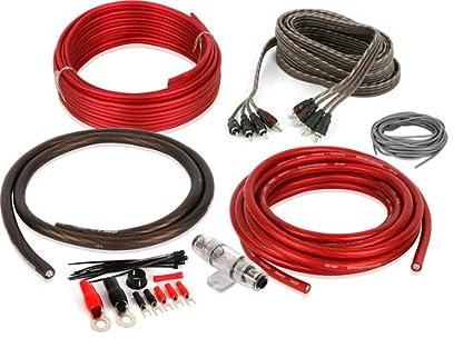amazon com belva bak46 5 or 6 channel amp kit automotive rh amazon com wiring 50 amp rv outlet wiring 50 amp breaker