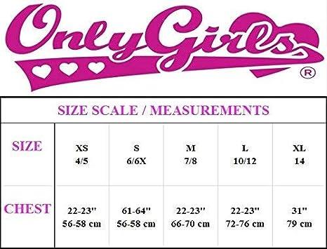Only Girls by Rene ROFE Nylon//Spandex Seamless Training Bra 6 Pack