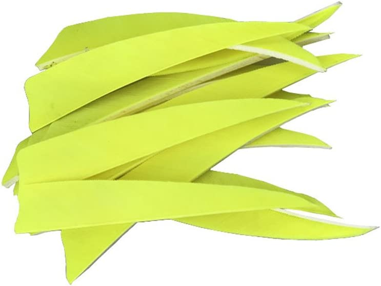 50pcs Arrow Turkey Feathers 4 Inch Natural Feather Fletching Handmade Vanes Right Wings