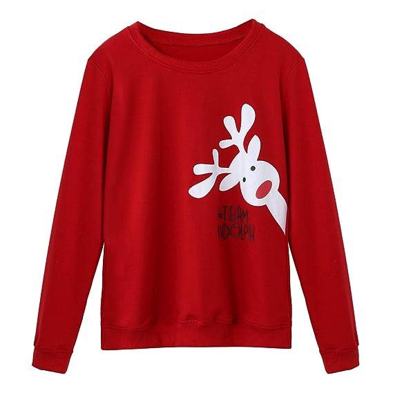... Blusa con Estampado de Ciervos Pijamas exclusivos navideños Servicio a Domicilio Set de impresión de Alces de Navidad: Amazon.es: Ropa y accesorios