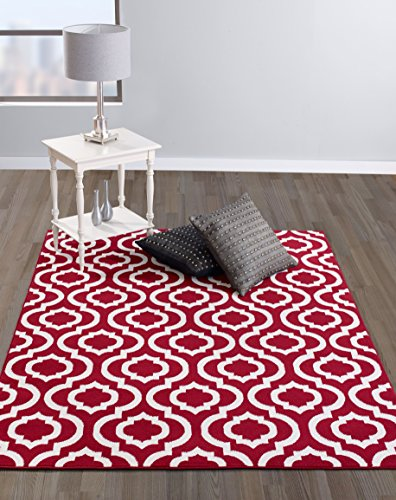 Diagona Designs Contemporary Moroccan Trellis Design 8 by 10 Area Rug,  94