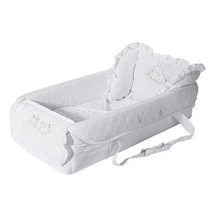 Baby Nest Cama Nido de Bebé Cama portátil para recién Nacidos, cojín ...
