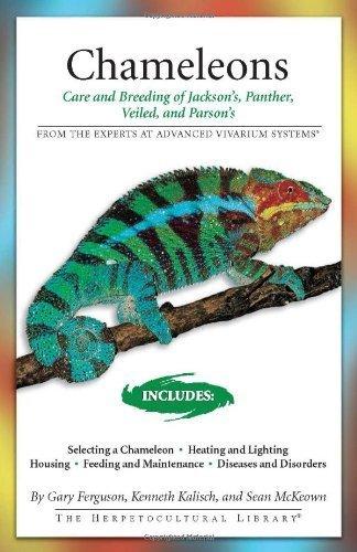 Chameleons (Herpetocultural Library) by Gary Ferguson, Kenneth Kalisch, Sean McKeown (2007) Paperback
