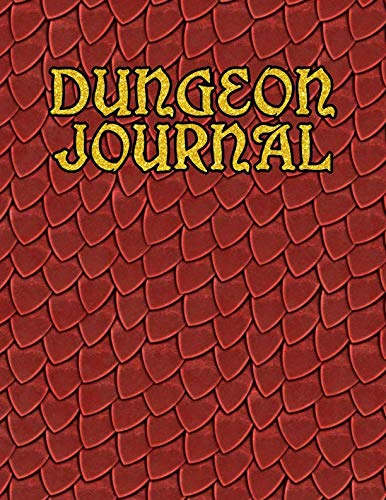 Dungeon Journal: 100 pages of white RPG graph paper (Birthday Scroll)
