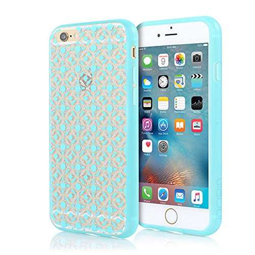 iPhone 6S Plus Case, iPhone 6 Plus Case, Incipio iPhone 6S Plus / 6 PlusCase [Design Series: Moroccan] Shockproof Ultra-Thin Slim  TPU Polymer Tough Shock and Impact Absorption Cover - Blue