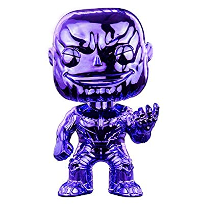 Funko Pop! Avengers Infinity War - Thanos [Purple Chrome] #289 - [EXCLUSIVE - SUPER RARE!!!]: Toys & Games