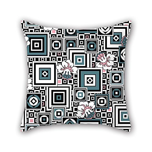 PILLO 16 X 16 Inches / 40 By 40 Cm Geometry Pillow Cases ,twice Sides Ornament And Gift To Teens,car,bar,christmas,birthday,drawing Room