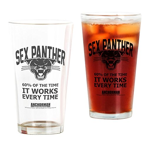 CafePress Sex Panther Pint Glass, 16 oz. Drinking -