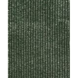 Shade Cloth, 12'W x 75'L, 70% Shade Density Forest Green By Tabletop King