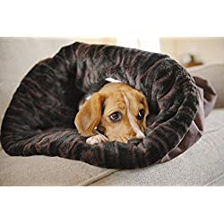 P.L.A.Y. - Snuggle Bed - Small - Truffle Brown