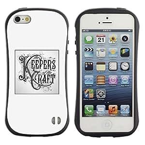 Be-Star Impreso Colorido Diseño Antichoque Caso Del Iface Primera Clase Tpu Carcasa Funda Case Cubierta Par Apple iPhone 5 / iPhone 5S ( keepers craft poster handicraft diy )