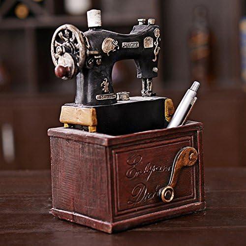 SU@DA Regalos American Village viejo retro Máquina de coser ...