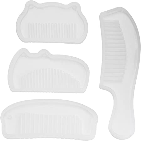 4 Pcs//Set Comb Series Art Silicone Mold Diy Hand Craft Epoxy Resin For Jew Y2R2