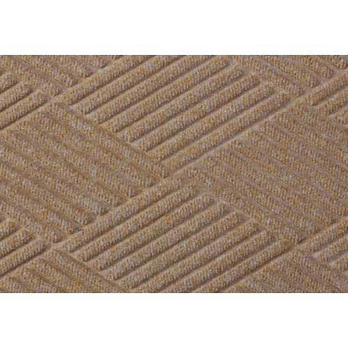 Waterhog Fashion Diamond Mat, Med Brown 6' x (Waterhog Fashion Diamond Mat)