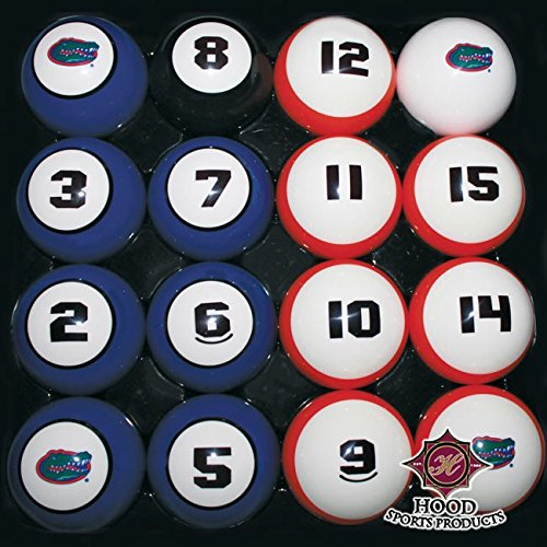 HOOD SPORTS PRODUCTS 11950-FLA FLORIDA BILLIARD BALL SET (Set Billiard Florida Ball)