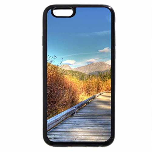 iPhone 6S / iPhone 6 Case (Black) wonderful bridge over valley wetlands in autumn hdr
