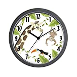 CafePress - Jungle Animal - Unique Decorative 10'' Wall Clock