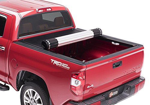 "BAK Revolver X2 Hard Rolling Truck Bed Tonneau Cover | 39409T | Fits 2007-20 Toyota Tundra, w/OE track system 5'6"" Bed"