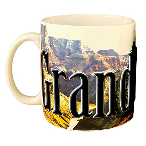 Americaware Coffee 2006 Grand Canyon Full Color Mug 18 oz. SMGRC01 (Coffee Canyon)