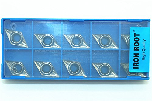 10 PCS CCGT 21.51 High Polish Carbide Inserts for Aluminum RISHET TOOLS CCGX