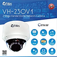 Afidus 1080P Full HD 2Mega Pixels Outdoor home security IP camera Dome type with 2.8-12mm lens IR night vision water proof vandal, PoE, mSD card, IP66, IK10, ONVIF VH-230V1 (not Hikvision)