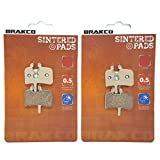 BRAKCO Sintered Metallic Disc Brake Pads HAYES HFX 9, HFX-MAG, PROMAX