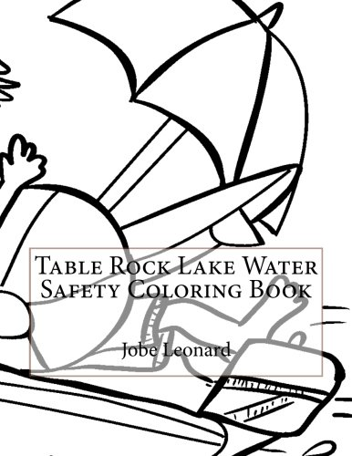 Table Rock Lake Water Safety Coloring Book for sale  Delivered anywhere in USA
