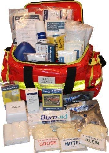Erste Hilfe Notfalltasche für Sportvereine - Plane