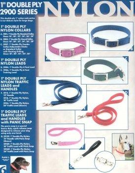 (Coastal Pet Double-Ply Nylon Dog Collar (Black, 18 Inch L x 1 Inch)