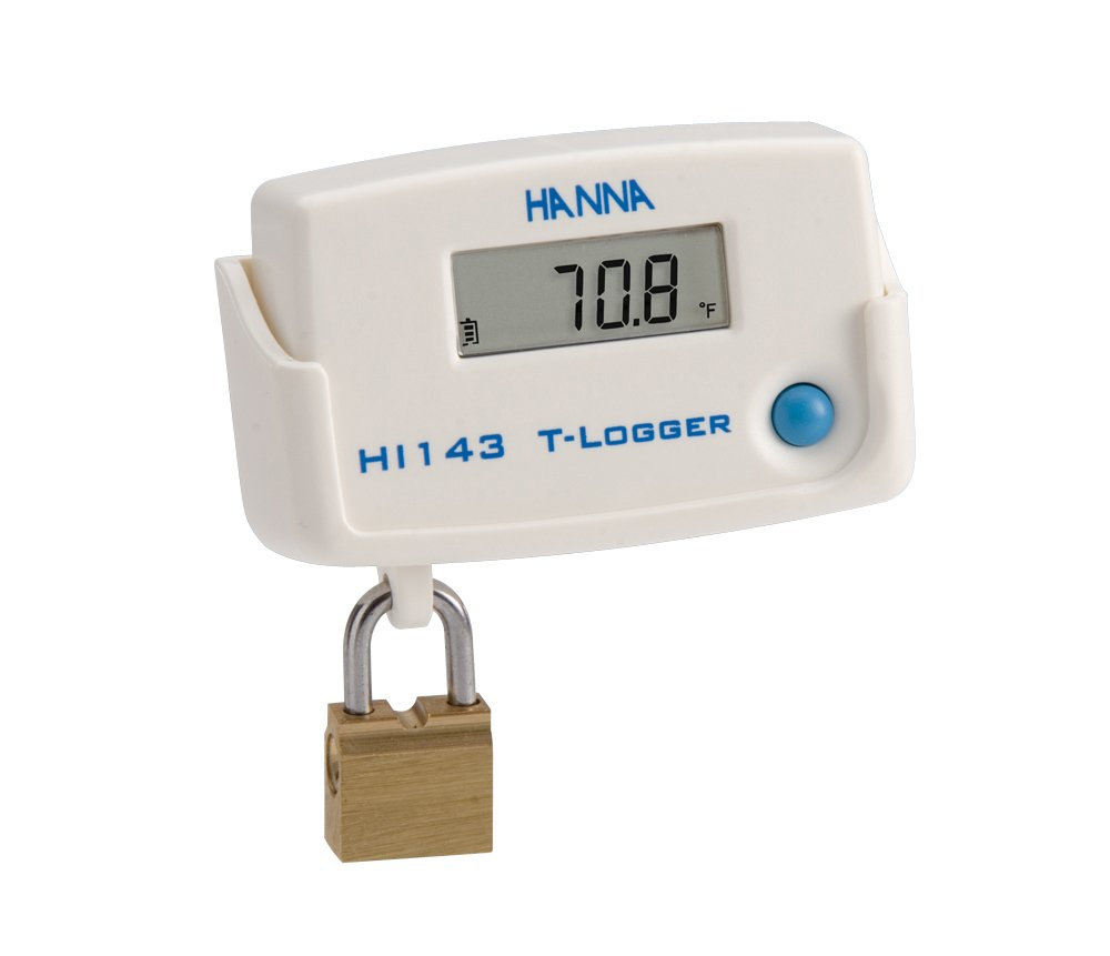 HI143-registrador de temperatura con soporte para montaje en pared: Amazon.es: Amazon.es