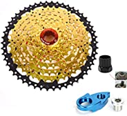 ROYAL SUN 9 Speed 11-50T Freewheel Cassettes Cogs Fit for Shimano 9 Speed Include M370,M390,M430,M2000,M4000,D