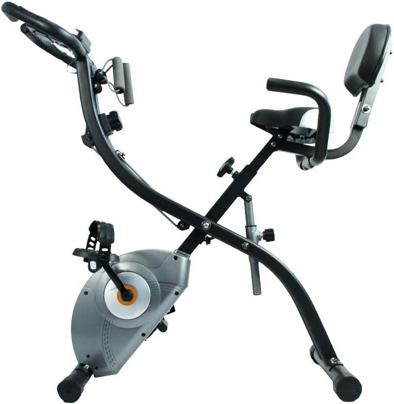 ATIVAFIT Stationary Exercise Bike Magnetic Upright Bike