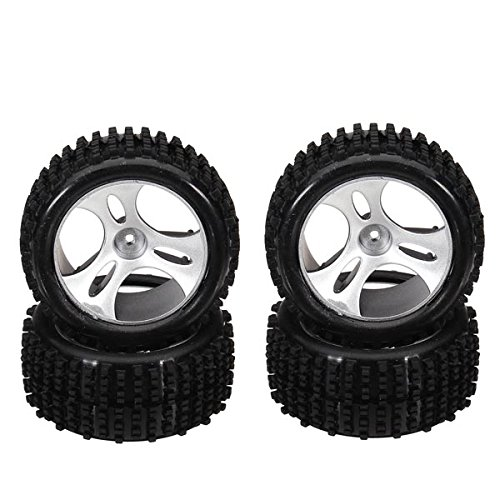 (Quickbuying Wholesale Wltoys A959 1/18 RC Car Spare Parts Wheels A959-01)