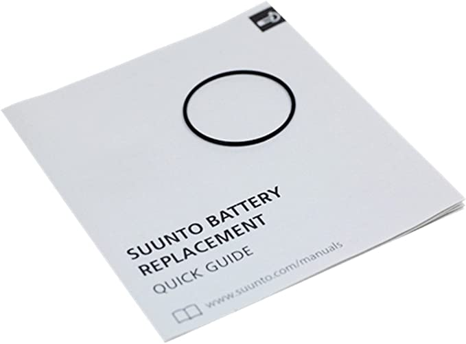 Battery Kit For Suunto T1 T3 /& T4 Wristop Computer