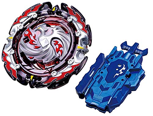 Bey Battle Blade Burst Turbo Metal Fusion Evolution B-131 Chouzetsu Booster Dead Phoenix.0.at.Stater Set with B-119 Bey String Launcher Right Battling Top