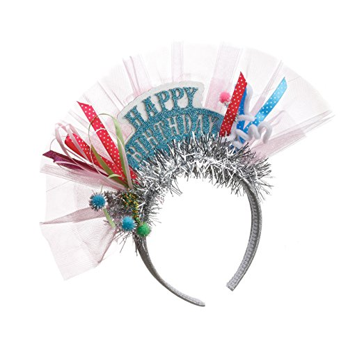 - DEMDACO Seasons Happy Birthday Headband