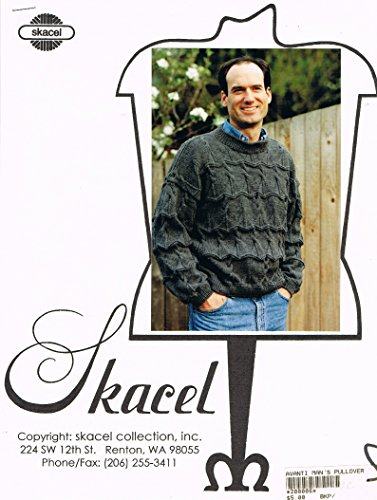 Skacel Avanti Man's Pullover Sweater Knitting Pattern - Skacel Collection