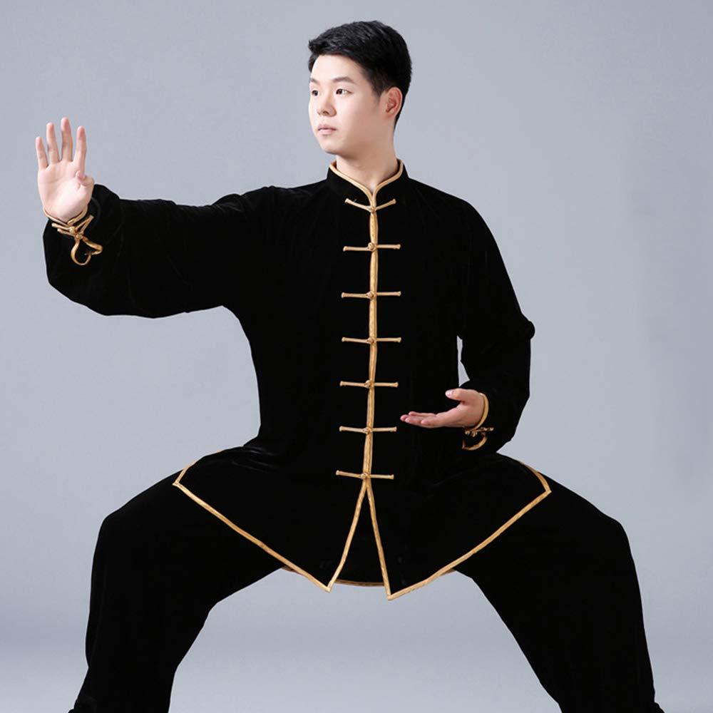 KINDOYO Abbigliamento da Arti Marziali Wing Chun Shaolin Kung Fu Cinese Tradizionale Invernale Caldo pi/ù Spessa Abbigliamento da Allenamento