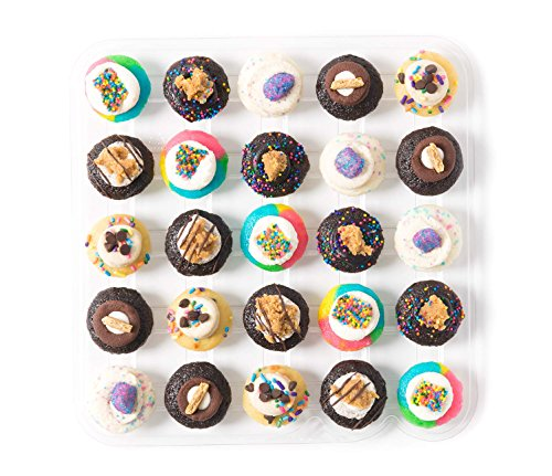 Baked by Melissa Cupcakes Summer Camp Collection - Assorted Bite-Size Cupcakes, 25 (Camp Cupcake)