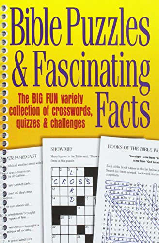 Bible Puzzles & Fascinating - Crossword Puzzle Facts