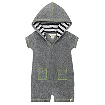 Amazon Burt s Bees Baby Boys Hooded Organic V Cut
