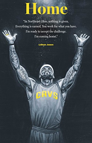 Lebron James Cleveland Cavaliers Basketball Limited Print Photo Poster #1