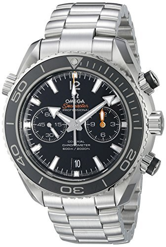 Omega Men's 232.30.46.51.01.001 Seamaster Plant Ocean Black Dial Watch by Omega (Omega Watches Models And Prices In India)