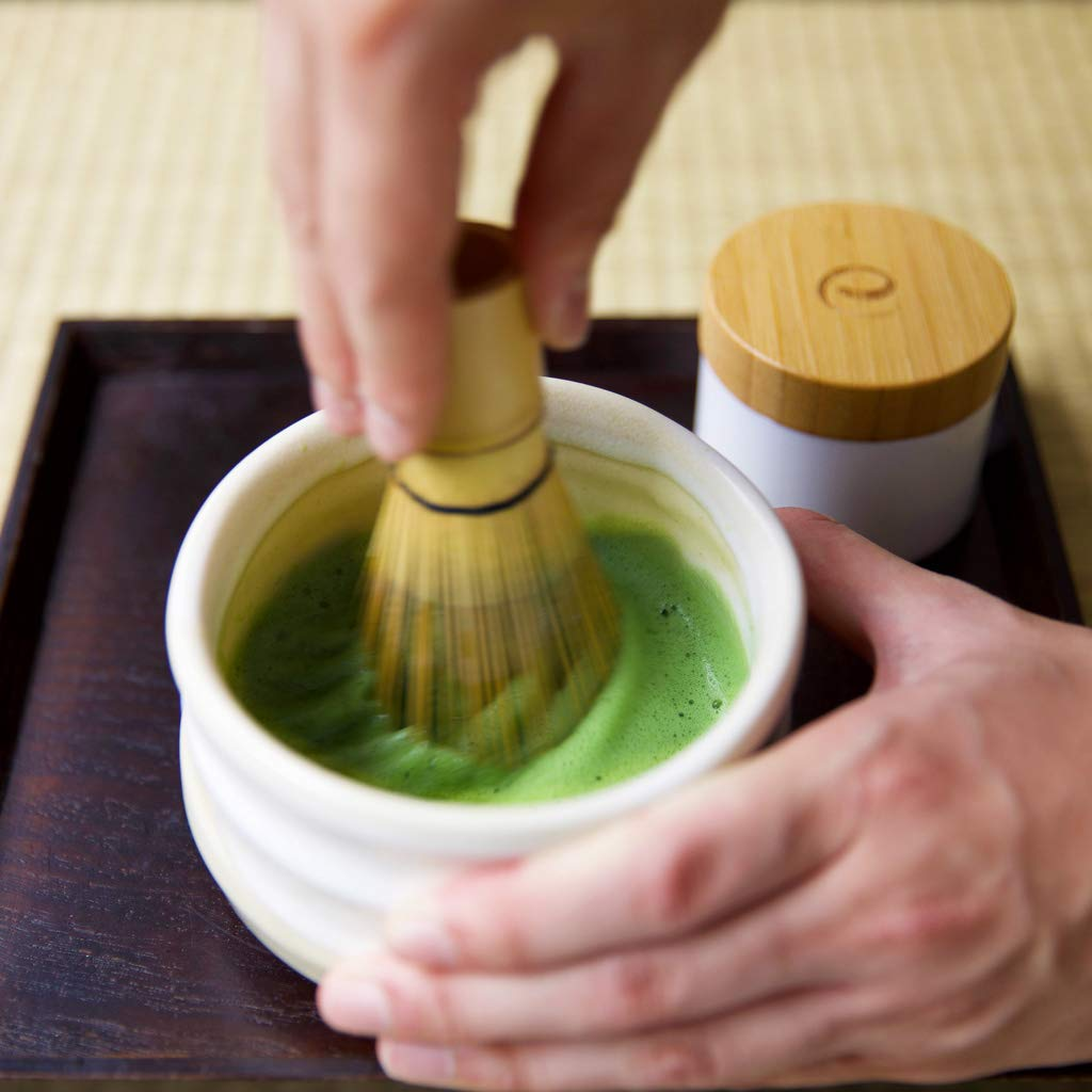 Encha Ceremonial Organic Matcha (USDA Organic Certificate and Antioxidant Content Listed, Premium First Harvest Directly from Farm in Uji, Japan, 60g/2.12oz in Resealable Pouch) by Encha (Image #8)